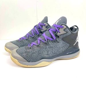Nike Men's Air Jordan Super Fly 3 Retro US 12 Gray Athletic Sneakers 684933-004